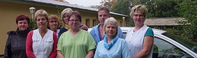 Mitarbeiter der Diakonie Sozialstation Brandshagen